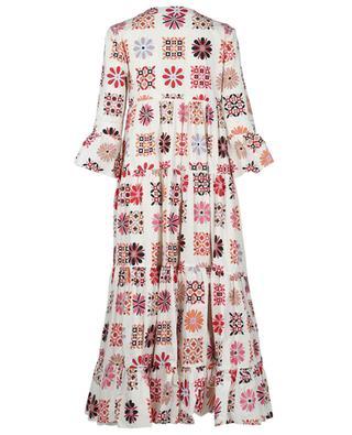 Robe empire ample Jennifer Jane Vetrata Bianco LA DOUBLEJ