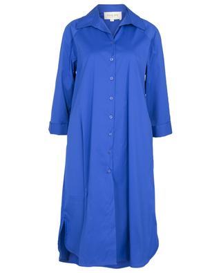 Robe chemise midi ample en popeline Paul TOUPY