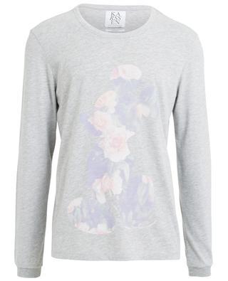 Langarm-T-Shirt aus Baumwolle ZOE KARSSEN