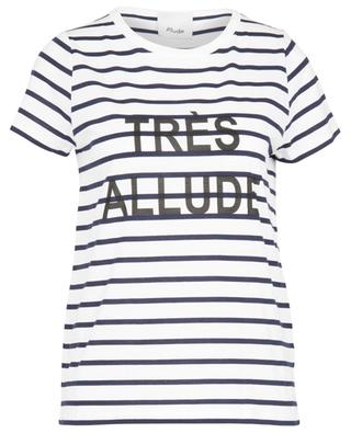 T-shirt rayé en jersey TRÈS ALLUDE ALLUDE