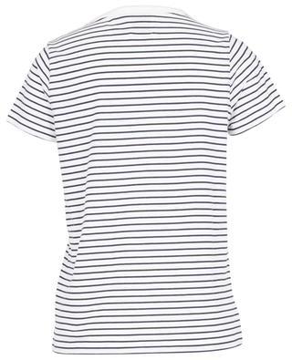 T-shirt rayé en jersey J'AIME TOUT LE MONDE ALLUDE