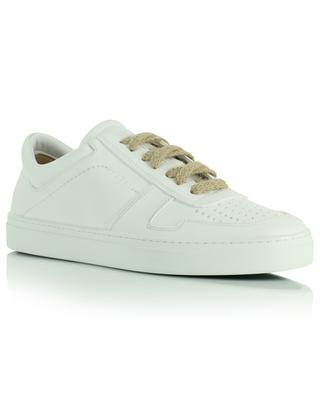 Iror low lace-up sneakers in white vegan leather YATAY