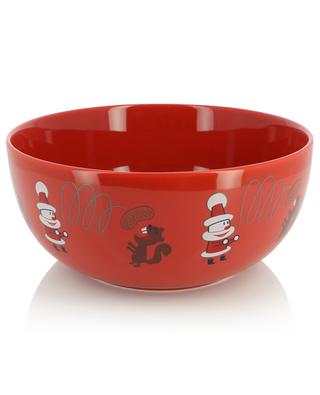 Get nuts! porcelain salad bowl ALESSI