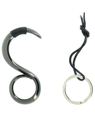 No-Touch Staysafe key ring and door hook ALESSI