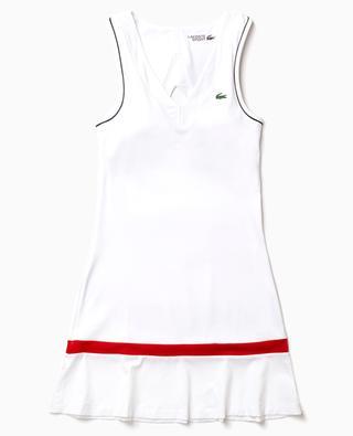 LACOSTE SPORT stretch women's tennis dress with built-in bra LACOSTE
