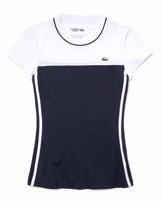 Damen Tennis T-Shirt mit Colourblocks LACOSTE SPORT LACOSTE