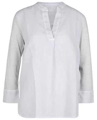 Linen and jersey tunic 120% LINO