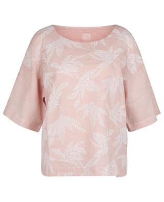 T-shirt ample en jersey de lin motifs pailletés 120% LINO