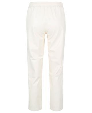 Cynthia nappa leather carrot trousers HEMISPHERE