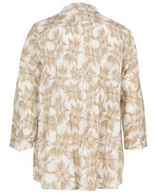 Blumenbedruckte Bluse mit Biesen HEMISPHERE