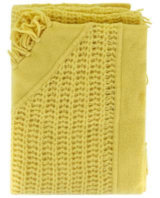 Dreieckiger Schal aus dickem Strick HEMISPHERE