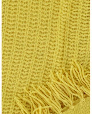 Triangular chunky knit scarf HEMISPHERE