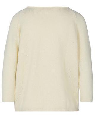 Boxy-Pullover in Pastellgelb aus Kaschmir HEMISPHERE