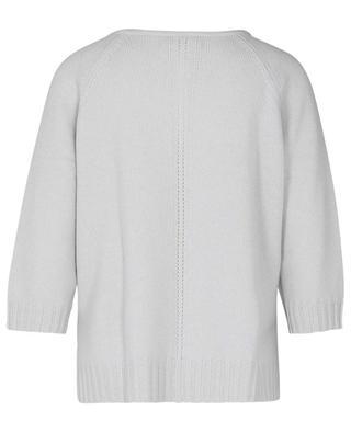 Boxy-Pullover aus Kaschmir mit Dreiviertelärmeln HEMISPHERE