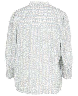 Feine samenbedruckte Bluse aus Seide HEMISPHERE
