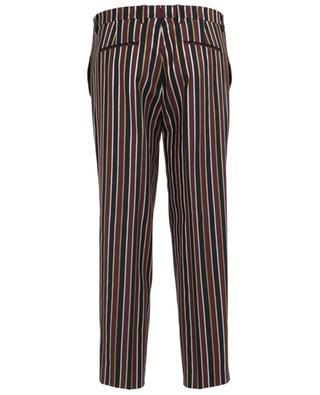 Pantalon rayé en laine mélangé BERWICH