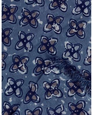 Dluke shamrock printed square shawl HEMISPHERE