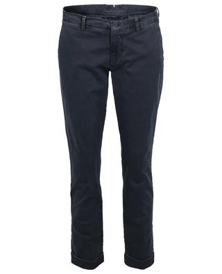 Pantalon slim en coton Miss B BERWICH