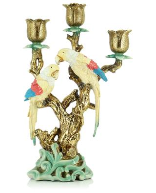Three-branched candle holder with birds KERSTEN