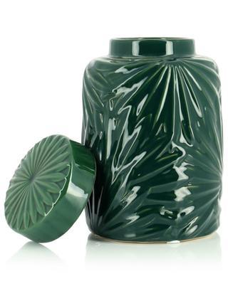 Vase mit Deckel aus Steingut KERSTEN