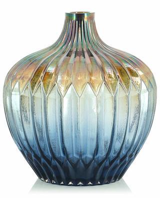 Irisierende texturierte Vase KERSTEN