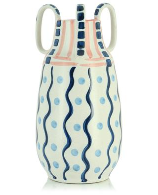 Painted vase with handles KERSTEN
