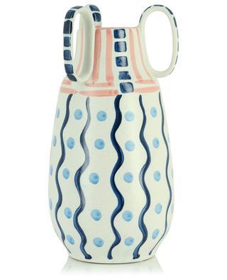 Bemalte Vase mit Griffen KERSTEN