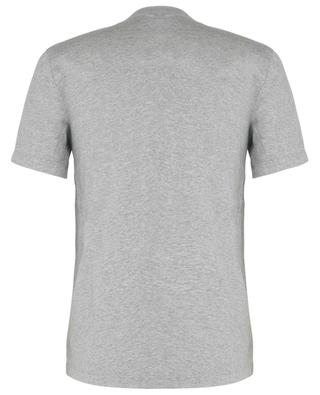 Mottled short-sleeve cotton T-shirt JAMES PERSE