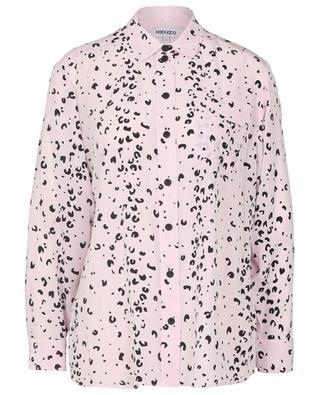 Seidenhemd mit Geparden-Print KENZO