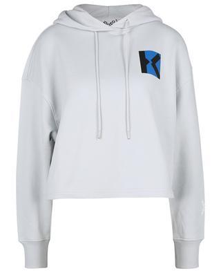 Blocked K printed boxy hooded sweatshirt KENZO