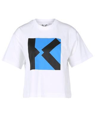 Boxy-T-Shirt mit Print K-Monogramm KENZO