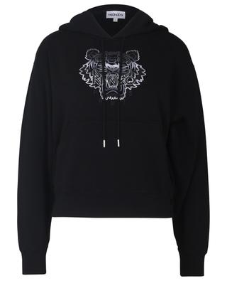 Gradient Tiger embroidered boxy hoodie KENZO