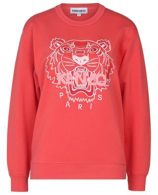 Tiger embroidered crewneck sweatshirt KENZO