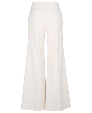 Flared lightweight stretch twill trousers VICTORIA VICTORIA BECKHAM