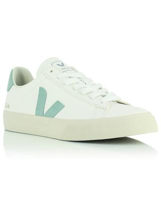Extraweisse Sneakers mit Matcha-Monogramm Campo Chromefree VEJA