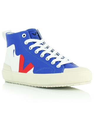 NOVA HT Malika Favre Lips high-top canvas sneakers VEJA