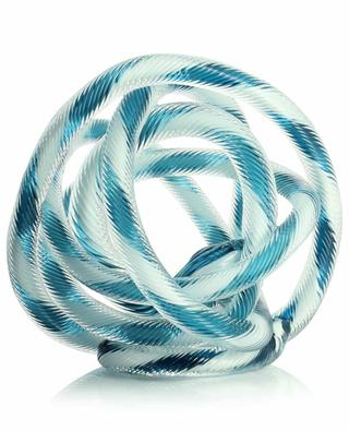 Knot knot-shaped glass sculpture HAY