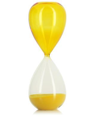 Sanduhr aus gelbem Glas Time HAY
