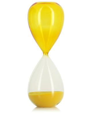 Time yellow hourglass HAY