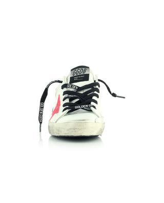 Sneakers aus Leder mit drei Einsätze Super-Star GOLDEN GOOSE