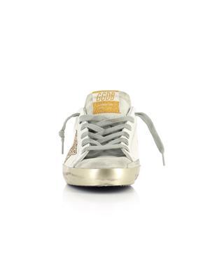 Goldene Leder-Sneakers Super-Star GOLDEN GOOSE