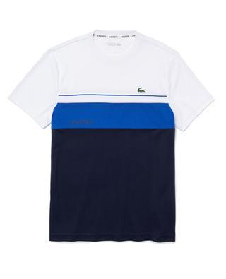 Herren-Rundhals-T-Shirt mit Colourblock LACOSTE SPORT LACOSTE