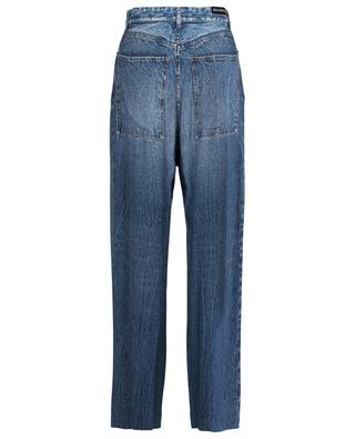 Fluid denim effect high-rise baggy trousers BALENCIAGA