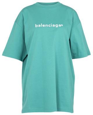 New Copyright Large Fit oversize logo print T-shirt BALENCIAGA