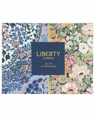 Ensemble de cartes décorées LIBERTY LONDON
