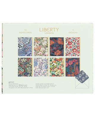 Ensemble de cartes décorées LIBERTY LONDON