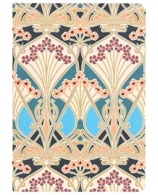 Ianthe hand embroidered lined notebook LIBERTY LONDON