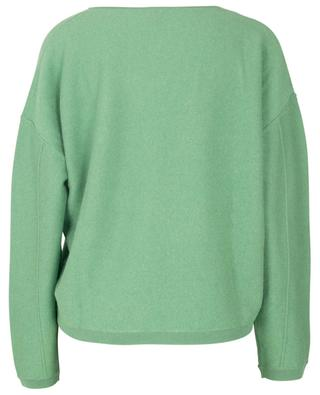 Cashmere and lyocell V-neck jumper FTC CASHMERE