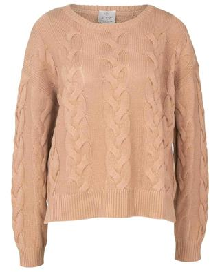 Cashmere and organic cotton jumper FTC CASHMERE