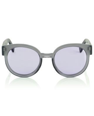 The Greta matte and shiny acetate rond sunglasses VIU